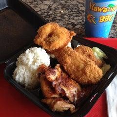 Photo taken at Ono Hawaiian BBQ by Eli P. on 7/22/2012