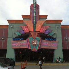 Photo taken at Regal Cinemas Augusta Exchange 20 & IMAX by David K. on 7/13/2012
