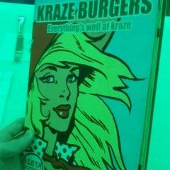 Photo taken at Kraze Burgers by Alex F. on 10/14/2011
