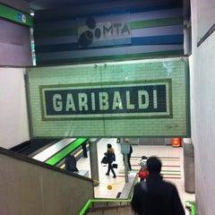 Photo taken at Metro Garibaldi FS (M2, M5) by Tunde P. on 1/12/2012