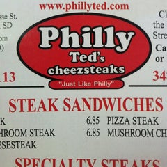 Photo taken at Philly Ted's Cheesesteaks & Subs by Dan D. on 3/2/2012