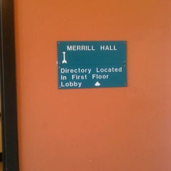 Photo taken at UWM Merrill Hall by Krysisha C. on 9/26/2011