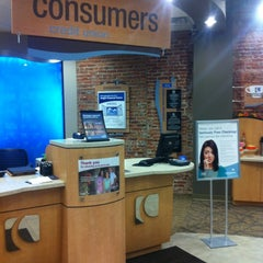 Photo taken at Consumers Credit Union by Clarence L. on 11/11/2011