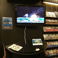 Photo taken at play n trade video games by Jonathan J. on 1/14/2012