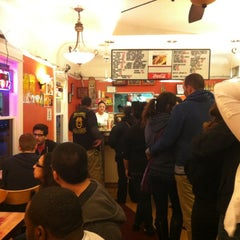 Photo taken at La Victoria Taqueria by Ben D. on 3/11/2012