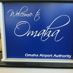 Photo taken at Omaha Eppley Airfield (OMA) by Jules on 8/19/2012