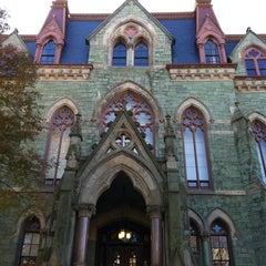 Photo taken at University of Pennsylvania by Joanna P. on 11/5/2011