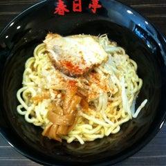 Photo taken at 油そば 春日亭 渋谷店 by Ikufumi Y. on 9/22/2011