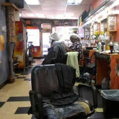 Photo taken at Tight Image Barber Shop by Caesar F. on 7/17/2012