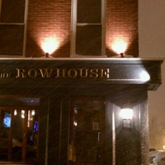 Photo taken at The Rowhouse Grille by Amanda on 1/27/2011