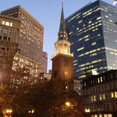 Photo taken at Old South Meeting House by Mike M. on 11/7/2011