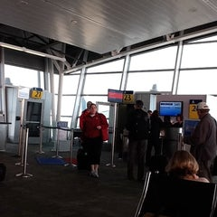 Photo taken at Gate A23 by Pat C. on 10/24/2011