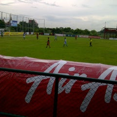Photo taken at Suvarnabhumi Customs Stadium by Roti Van Hima on 9/10/2011