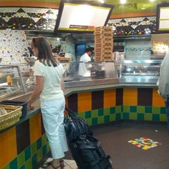 Photo taken at Wolfgang Puck Express by Randy on 8/30/2012