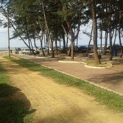 Photo taken at Pantai Batu Buruk by M. I. on 8/24/2012