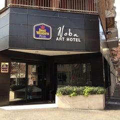 Photo taken at Best Western Art Hotel Noba by Donato F. on 4/30/2012