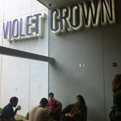 Photo taken at Violet Crown Cinema by Miguel A. on 3/18/2012