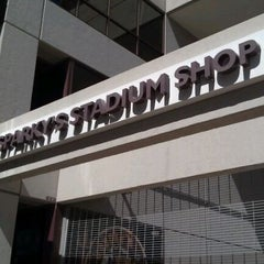 Photo taken at Sparky's Stadium Shop by Ryan E. on 10/10/2011