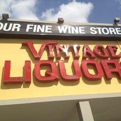 Photo taken at Vintage Liquor by Take 2 E. on 5/9/2012