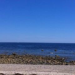 Photo taken at Town Neck Beach / Boardwalk by Dannielle B. on 7/10/2011