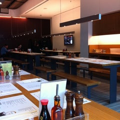 Photo taken at Wagamama by Ursula L. on 4/27/2011