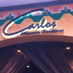 Photo taken at Carlos Mexican Canteena by Phillis L. on 3/12/2012