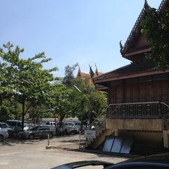 Photo taken at วัดนครป่าหมาก (Wat Nakorn Pa Mak) by Jo Joe P. on 4/22/2012