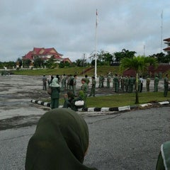 Photo taken at Lapangan Upacara Kantor Bupati by BEBEN M. on 11/14/2011