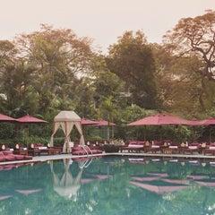 Photo taken at Pool Terrace Café & Bar by The Sukhothai Bangkok Hotel on 8/23/2011