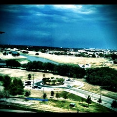 Photo taken at Tarrant County College (Trinity River Campus) by Heather M. on 10/4/2011