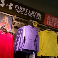 Photo taken at Under Armour Factory Store by Mary Jane S. on 10/28/2011