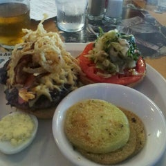 Photo taken at Three Angels Diner by Gloria M. on 6/26/2011