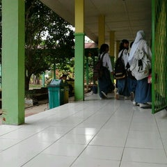 Photo taken at SMAN 5 Bengkulu by Tazkira P. on 9/8/2011