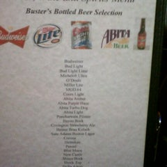 Photo taken at Buster's Place Restaurant and Oyster Bar by Stan M. on 11/25/2011