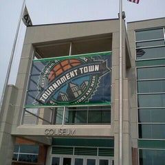 Photo taken at Greensboro Coliseum Complex by Curtis T. on 3/15/2012