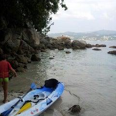 Photo taken at Praia de Castiñeiras by Hector J. on 7/25/2012