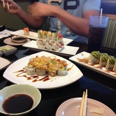 Photo taken at Waraii Sushi by Michelle M. on 7/21/2012