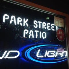 Photo taken at Park Street Patio by Jude D. on 4/29/2012