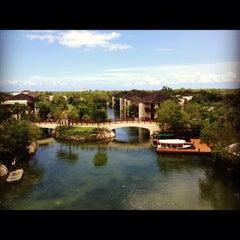 Photo taken at Fairmont Mayakoba by Leticia G. on 5/22/2012