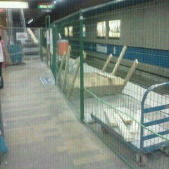 Photo taken at Churchill LRT Station by Don P. on 7/12/2012