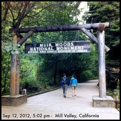 Photo taken at Muir Woods National Monument by Adam T. on 9/13/2012