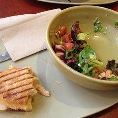 Photo taken at Panera Bread by Paula G. on 8/5/2012
