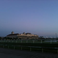 Photo taken at Gulfstream Park Racing and Casino by Stephen T. on 5/20/2012