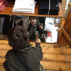 Photo taken at Fred Perry by Sandra S. on 5/5/2012