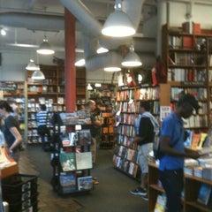 Photo taken at Harvard Book Store by Lauren C. on 8/12/2012