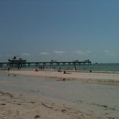 Photo taken at Clearwater Beach Pier by Bill H. on 6/29/2012