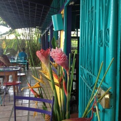 Photo taken at Café Milagro in Manuel Antonio by Brian W. on 3/17/2012