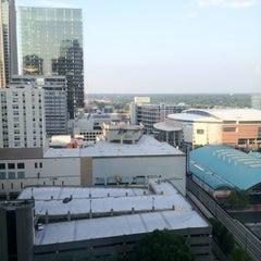 Photo taken at Hilton Charlotte Center City by Kasey S. on 6/21/2012