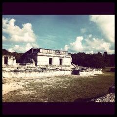 Photo taken at Zona Arqueológica El Rey by Denise M. on 3/17/2012