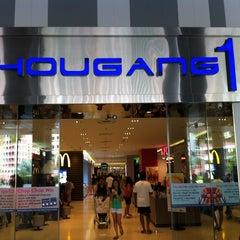 Photo taken at Hougang 1 by Germel Ryan L. on 8/20/2012